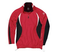Mizuno Mens WarmaLite 1/4 Zip Jacket (Red/Black)