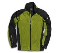 Mizuno Mens Windlite Full Zip Fleece 2013 (Green/Black)