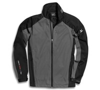 Mizuno Mens Windlite Full Zip Fleece 2013 (Grey/Black)