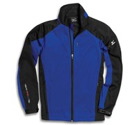 Mizuno Mens Windlite Full Zip Fleece 2013 (Royal Blue/Black)