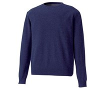 Footjoy Mens Lambswool Crew Neck Pullover 2014 (Navy)
