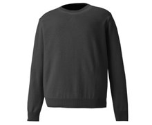 Footjoy Mens Lambswool Crew Neck Pullover 2014 (Charcoal)