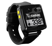 Izzo Swami Voice Golf GPS Watch (Black/Yellow)
