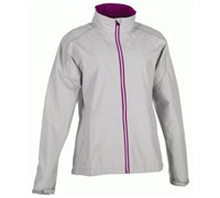 Galvin Green Ladies Gore Tex Abby Waterproof Jacket 2014 (Grey/Purple/White)