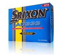 Srixon AD333 Yellow Golf Balls 2014  12 Balls