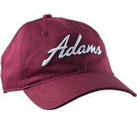 Adams Golf Structured Idea Players Cap (Red)
