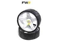 Powakaddy Sport Airless Standard Wheel (Single)