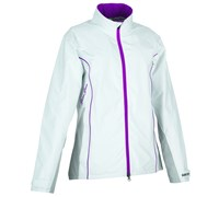 Galvin Green Ladies GoreTex Alice Waterproof Jacket 2014 (White/Purple)