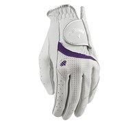 Callaway Ladies Alura Golf Gloves 2014 (White/Purple)