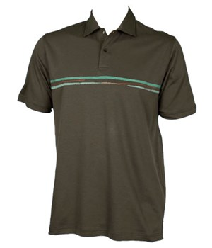 Ashworth Mens Ez-Tech Solid Polo Shirt