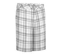 Ashworth Madras Plaid Flat Front Short 2013 (Pebble)