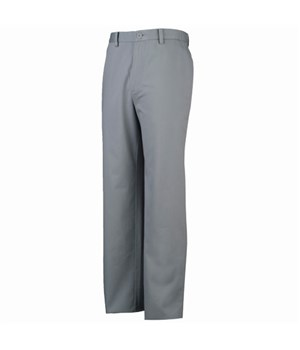 Ashworth Mens Flat Front Blend Solid Trouser