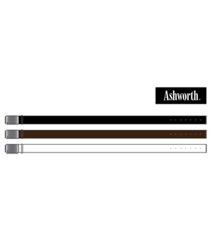 Ashworth Mens Square Cut Leather Belt