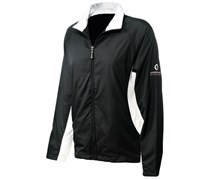 Sunderland Ladies Amalfi Full Zip Wind Jacket (Black/White)