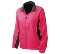 Sunderland Ladies Amalfi Full Zip Wind Jacket (Desire/Black)