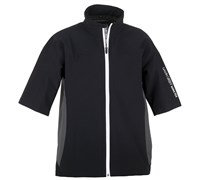 Galvin Green Gore-Tex Mens Ames Short Sleeve Waterproof Jacket 2013 (Black/Gunmetal/White)