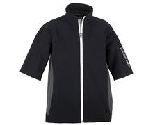 Galvin Green Mens Ames Short Sleeve Waterproof Jacket 2013 (Black/Gunmetal/White)
