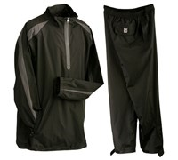 PGA Tour Mens Anchorage Waterproof Suit (Black)