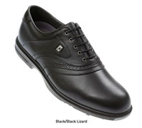 FootJoy AQL Series Golf Shoes (Black/Black Lizard)