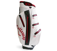Callaway Aqua Dry Waterproof Cart Bag 2014 (White/Red/Black)