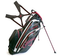 Callaway Aqua Dry Waterproof Stand Bag 2014 (Black/Red/White)