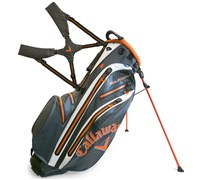 Callaway Aqua Dry Waterproof Stand Bag 2014 (Grey/Orange/White)