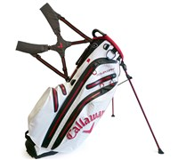 Callaway Aqua Dry Waterproof Stand Bag 2014 (White/Red/Black)