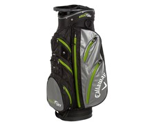 Callaway Aqua Dry Waterproof Cart Bag 2013 (Black/Charcoal/Green)