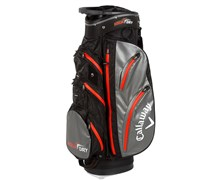 Callaway Aqua Dry Waterproof Cart Bag 2013 (Black/Charcoal/Orange)