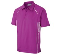 Sunderland Mens Arizona Short Sleeve Polo Shirt (Purple/White)