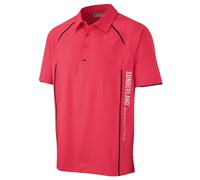 Sunderland Mens Arizona Short Sleeve Polo Shirt (Pink/Black)