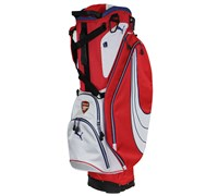 Puma Golf Form Stripe Limited Edition Arsenal Stand Bag (Red/White)