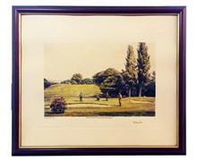 Arthur Weaver Golf Series Prints (Holing Out)