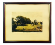 Arthur Weaver Golf Series Prints (Safely On)
