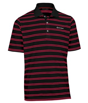 TaylorMade By Ashworth Pique Striped Polo 2012