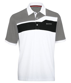 TaylorMade By Ashworth Colour Blocked Polo 2012