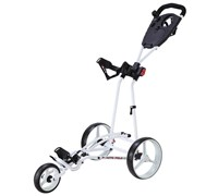 Big Max Autofold Push Trolley 2013 (White)