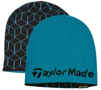 TaylorMade Ladies Reversible Tour Beanie (Turquoise)
