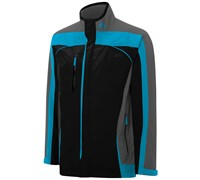 Adidas Mens Climaproof Puremotion Gore-Tex Jacket 2014 (Black/Grey/Blue)