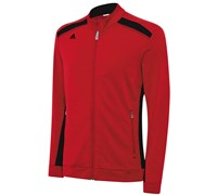 Adidas Mens Climawarm 3 stripes Colour Pop Full-Zip Jacket 2015 (Red/Black)