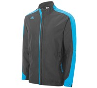 Adidas Mens Climaproof Gore-Tex 3-Stripes Jacket 2014 (Onix/Blue)
