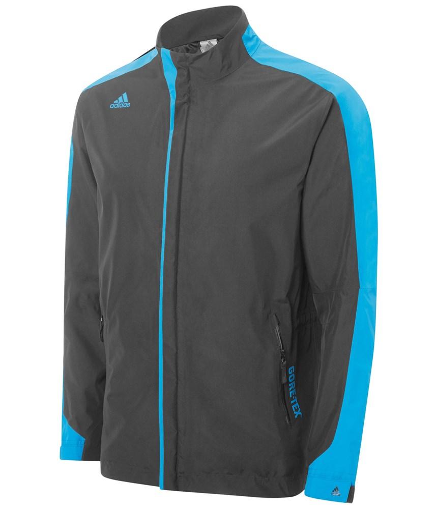 Adidas Mens Climaproof Gore-Tex 3-Stripes Jacket | GolfOnline