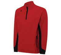 Adidas Mens Climaproof Gore-Tex Paclite 1/2 Zip Jacket 2014 (Red/Black)