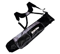Longridge 5 Inch Pencil Golf Bag (Black/Silver)