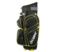 Clicgear B3 Golf Cart Bag 2014 (Black/Yellow)