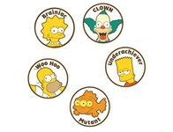 Simpsons Ball Marker Set (5 Pack)