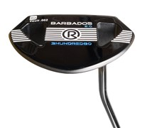Rife Barbados 2.0 Satin Black PVD Putter with SuperStroke