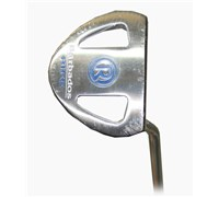 Rife Island Series Barbados Silver Putter  Heel Shaft