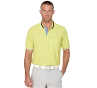 Callaway Mens Pocket Polo Shirt (Wild Lemon)