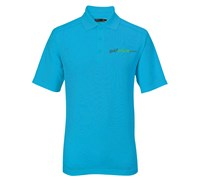 Callaway Golf Mens Chev Polo Shirt (Nordic Blue)